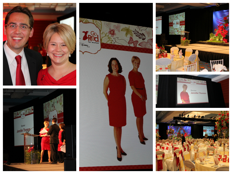 Go Red Luncheon Collage