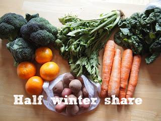 half winter share