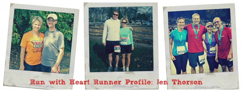 Run with Heart Profile Jen Thorson