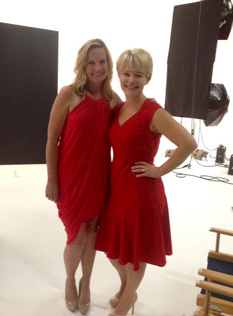 Lisa and Jen