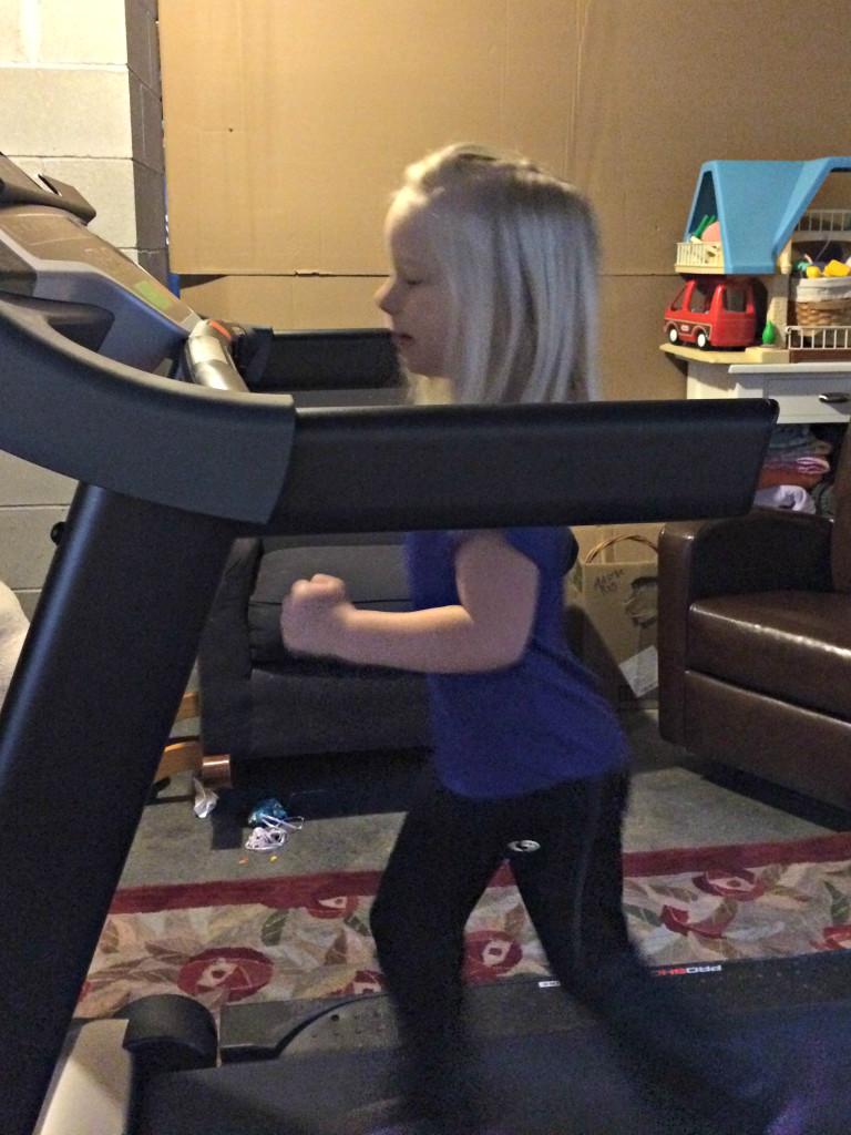 Lauren treadmill