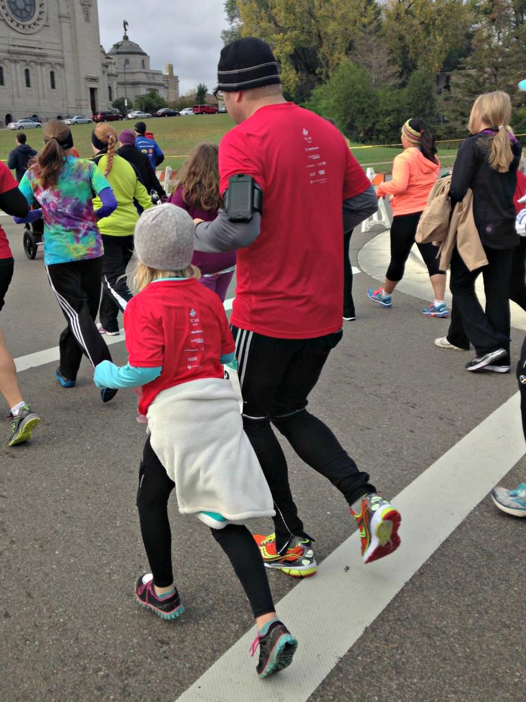 Mike and Jenna 5K run