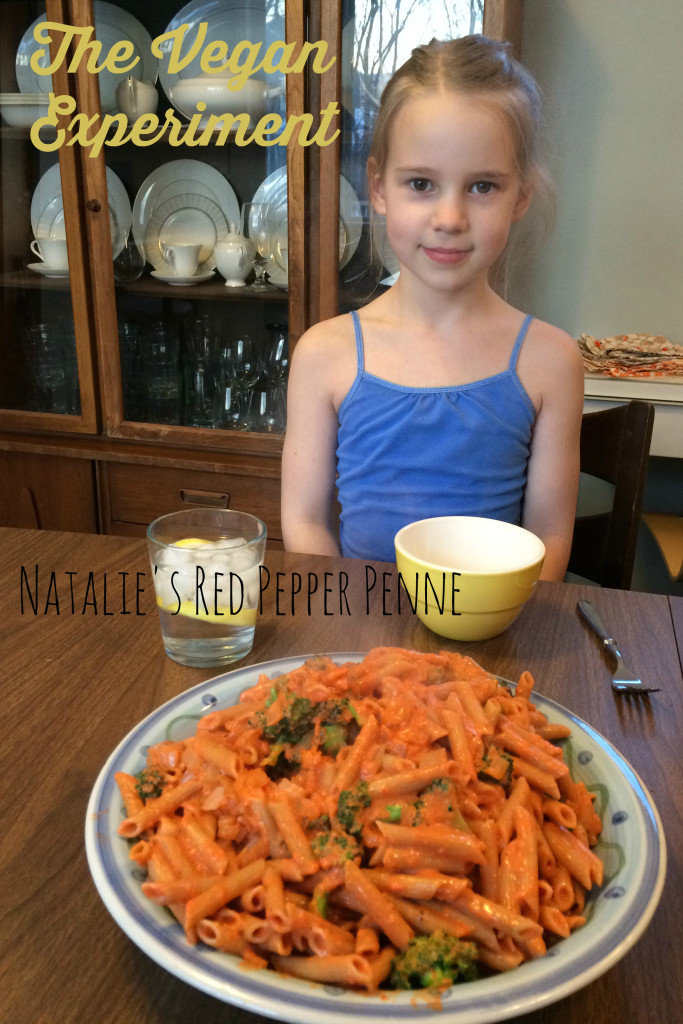 Vegan Experiment Natalie's Penne