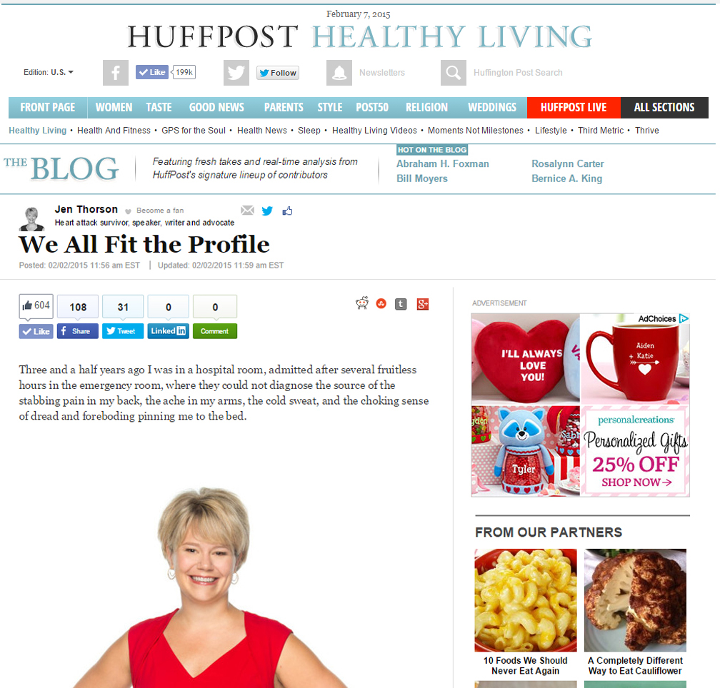 huff post blog capture