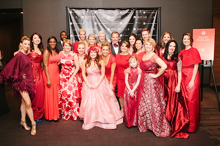 Minnesota's Red Dress Collection Show at the Loews Hotel, Minneapolis March 2015